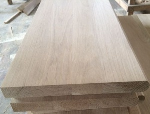 Oak Stair Treads 18 mm x 300 mm x 1200 mm