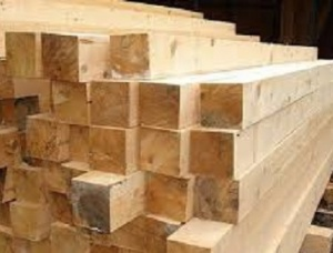 Spruce Beams KD 85 mm x 100 mm x 1000 mm