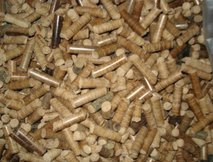 Holzpellets Array Eiche 6 mm x 10 mm