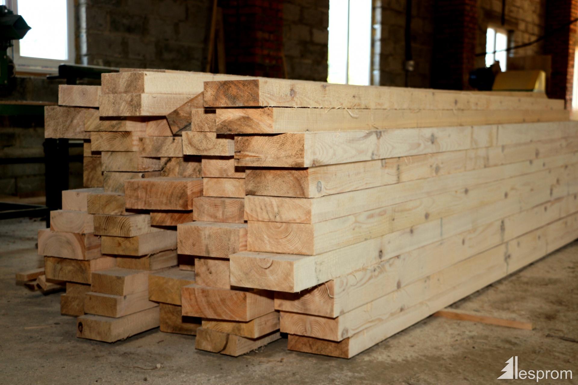 Sawn timber pine ad mm m