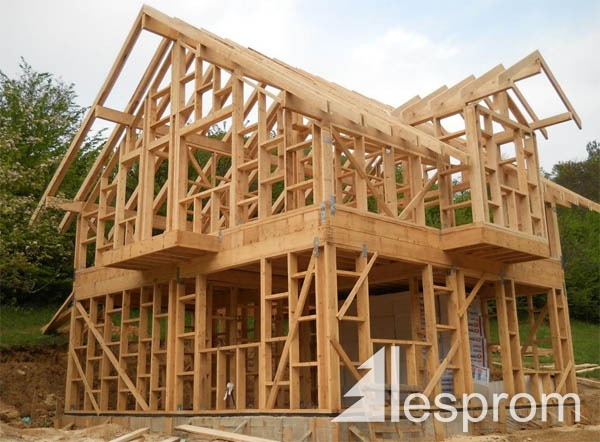Wooden Carc House Roof Trusses