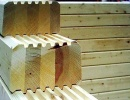 Glulam Timber Wall Prefab Sets (house kits)