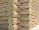 Cylinder Log Wall Prefab Sets (house kits)