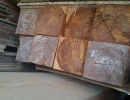 Beam Sapelli 90 mm x 90 mm x 5 m