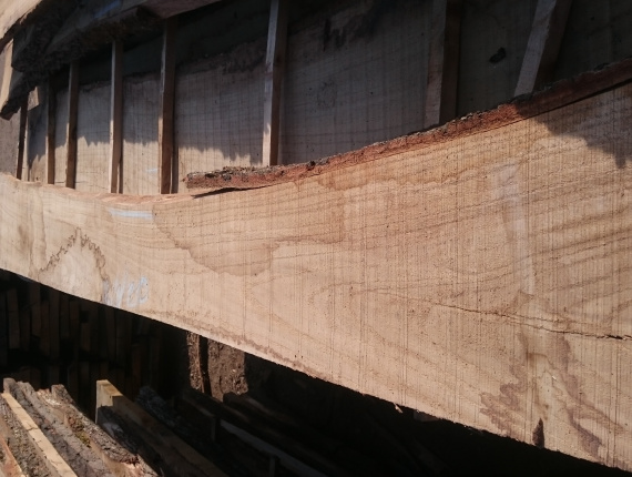 38 mm x 150 mm x 2500 mm Oak Flitch