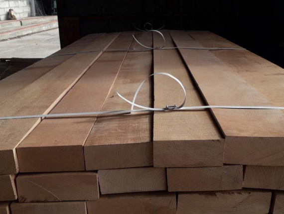 50 mm x 100 mm x 350 mm KD R/S Heat Treated Beech Lumber