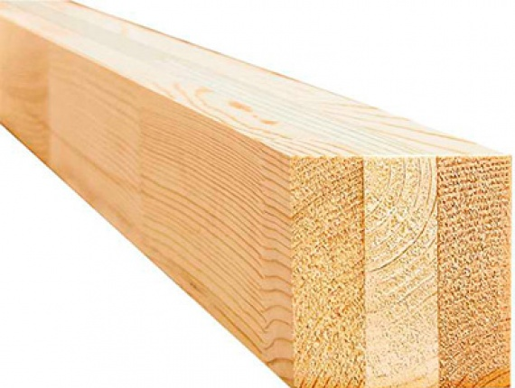 Glued Window Scantlings KD Pine 250 mm x 140 mm x 4 m