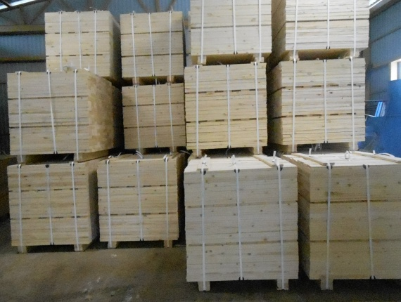 Lumber for pallets 15*100