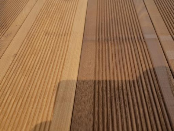 22 mm x 145 mm x 3000 mm Birch Anti-slip decking