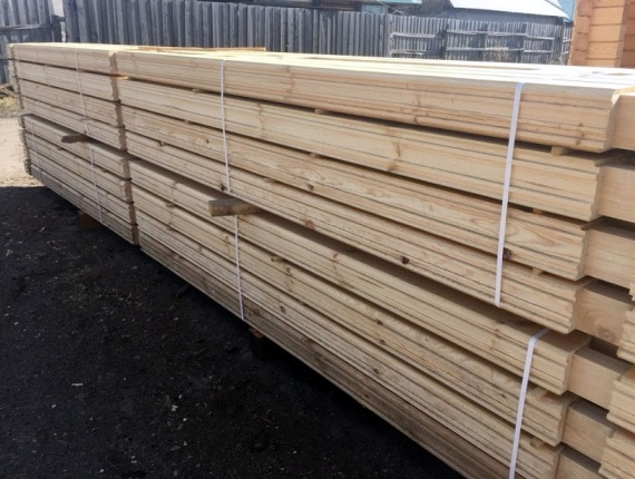 Beam KD Larch 8 in x 200 mm x 6 m