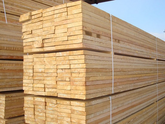 Spruce Sawn wood 50 mm x 150 mm x 6000 mm