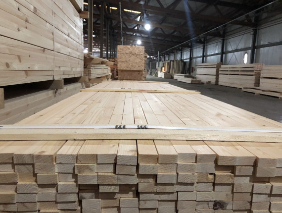 40 mm x 50 mm x 3000 mm KD  Spruce-Pine-Fir (SPF) Post