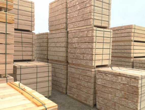 SPF Pallet elements AD 44 mm x 400 mm x 5000 mm
