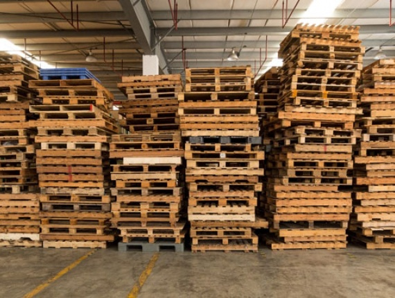 4 Way Wooden Pallets 144 mm x 1200 mm