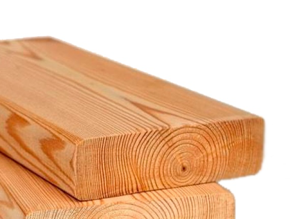 Siberian Larch Smooth Decking Board (Grade C1) 24 mm x 90 mm x 2000 mm