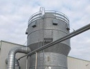 Stainless silos / aspiration